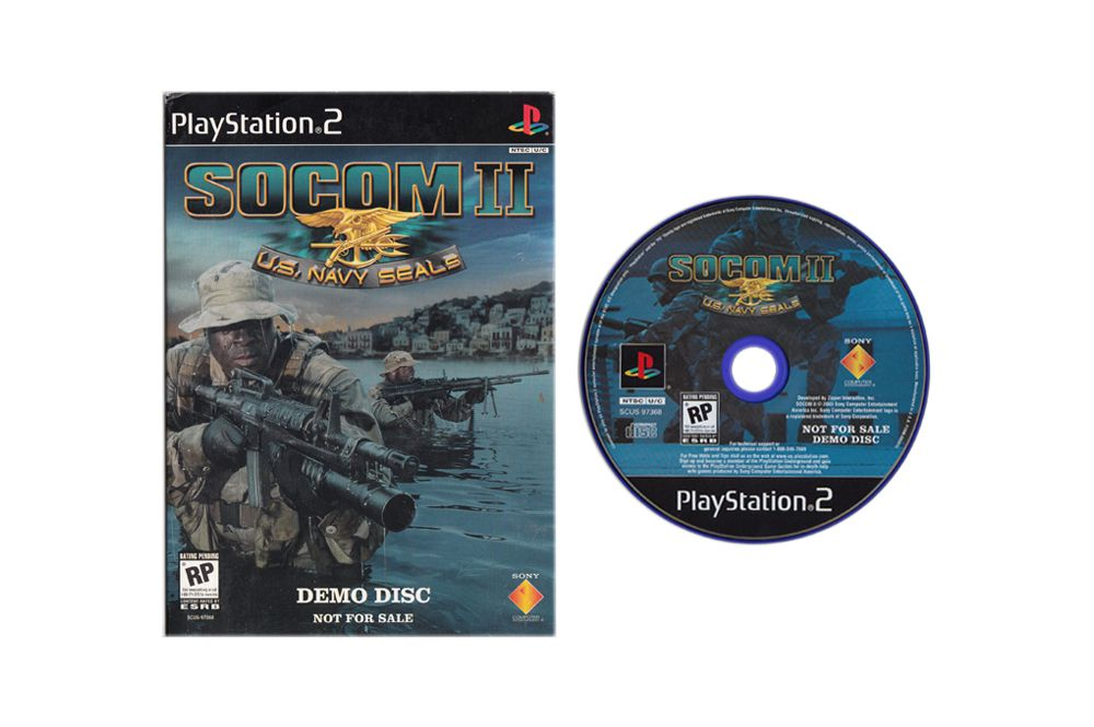 SOCOM II: U S  Navy SEALS Demo Disc [Playstation 2]